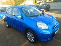 2012 NISSAN MICRA 1.2 ACENTA 5d AUTO 79 BHP £5500.00