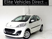 USED 2014 14 PEUGEOT 107 1.0 ACTIVE 5d AUTO 68 BHP