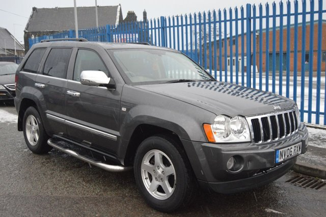 2006 06 JEEP GRAND CHEROKEE 3.0 V6 CRD LIMITED 5d AUTO 215 BHP