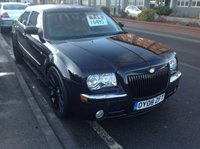 USED 2008 08 CHRYSLER 300C 3.0 SRT DESIGN 4d AUTO 215 BHP The real black beauty, fully loaded, great spec,