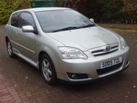 2005 TOYOTA COROLLA 1.4 COLOUR COLLECTION VVT-I 3d 92 BHP £1995.00