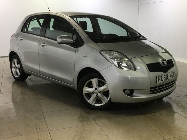 View our 2008 58 TOYOTA YARIS 1.3 T SPIRIT VVT-I MM 5d 86 BHP