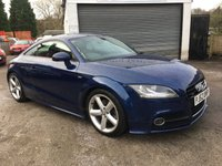 2012 AUDI TT 2.0 TDI QUATTRO S LINE 2d 170 BHP LOOKS AND DRIVES SUPERB £10989.00