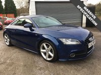 USED 2012 62 AUDI TT 2.0 TDI QUATTRO S LINE 2d 170 BHP SUPERB PERFORMANCE AND VERY ECONOMICAL