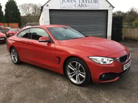 2013 BMW 4 SERIES 2.0 428I SPORT 2d 242 BHP MASSIVE SPECIFICATION  £17489.00