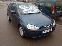 USED 2001 X VAUXHALL CORSA 1.4 COMFORT 16V 3d AUTO 90 BHP Automatic, 72000 miles, very clean, drives superb.