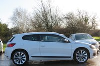 USED 2013 63 VOLKSWAGEN SCIROCCO 2.0 GT TDI BLUEMOTION TECHNOLOGY 2d 140 BHP SAT NAV, HEATED SEATS + FULL VIENNA LEATHER