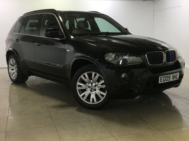 View our 2009 09 BMW X5 3.0 XDRIVE30D M SPORT 5d 232 BHP