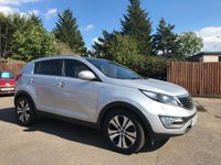 USED 2012 12 KIA SPORTAGE 2.0 CRDI KX-3 SAT NAV 5d AUTOMATIC / LEATHER/ REVERSING CAMERA NO DEPOSIT  FINANCE ARRANGED, APPLY HERE NOW