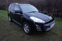USED 2007 57 PEUGEOT 4007 2.2 SE HDI 5d 155 BHP/7 SEATS,4X4,DVD SCREENS IN FRONT HEADRESTS