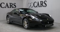 USED 2011 11 FERRARI CALIFORNIA 4.3 2 PLUS 2 2d AUTO 460 BHP WING BADGES FULL FERRARI HISTORY