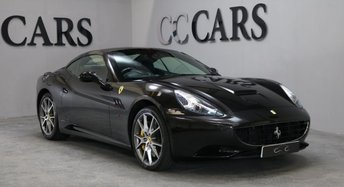 2011 FERRARI CALIFORNIA 4.3 2 PLUS 2 2d AUTO 460 BHP £86995.00
