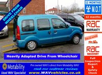 2008 RENAULT KANGOO 1.6 EXPRESSION 16V 5d AUTO DRIVE FROM WHEELCHAIR £4795.00