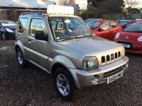 2005 SUZUKI JIMNY 1.3 JLX 3d 83 BHP £3250.00