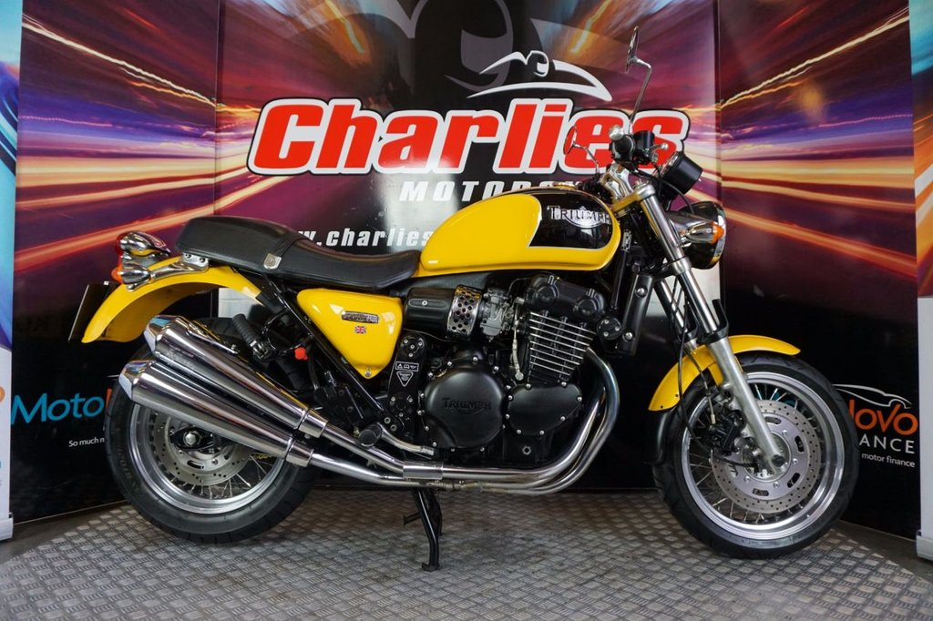 Used Triumph Bikes In Bradford From Charlies Motorcycles Limited