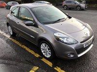 2010 RENAULT CLIO 1.1 DYNAMIQUE TCE 3d 100 BHP £3600.00