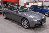 2008 MASERATI QUATTROPORTE 4.2 V8 4d AUTO 396 BHP £19100.00
