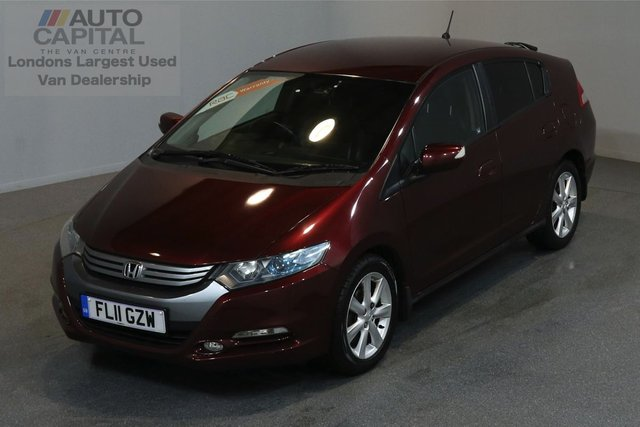 2011 11 HONDA INSIGHT 1.3 IMA EX 5d 100 BHP AIR CONDITION NAVIGATION AUTOMATIC GEARBOX PETROL ECON HYBRID  2 OWNER FROM NEW