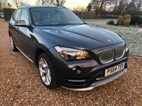 USED 2014 64 BMW X1 2.0 XDRIVE20D XLINE 5d AUTO 181 BHP HEATED LEATHER, SATNAV, PARK ASSISY