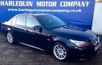 USED 2008 58 BMW 5 SERIES 2.0 520D M SPORT 4d AUTO 175 BHP STUNNING EXAMPLE 2008 58 BMW 520 TURBO DIESEL M-SPORT AUTOMATIC 4 DOOR WITH FULL SPORTS LEATHER M-SPORT ALLOYS i-DRIVE REMOTE LOCKING POWER STEERING SERVICE HISTORY MUST BE SEEN