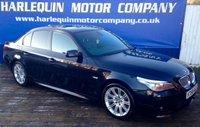 2008 BMW 5 SERIES 2.0 520D M SPORT 4d AUTO 175 BHP £7499.00