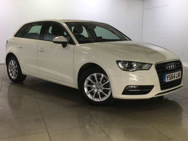 View our 2015 64 AUDI A3 1.6 TDI SE 5d 109 BHP