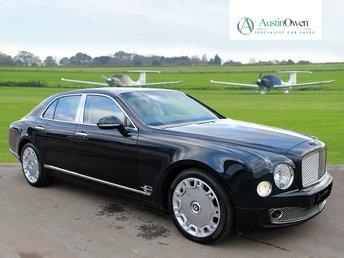 2010 BENTLEY MULSANNE 6.8 V8 4d AUTO 505 BHP £67490.00