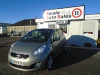 USED 2014 14 KIA VENGA 1.6 CRDI 3 ECODYNAMICS 114 BHP £45 PER WEEK NO DEPOSIT - SEE FINANCE LINK BELOW