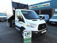 2016 FORD TRANSIT 2.2 350 TIPPER 125 BHP ARBORIST TREE SURGEON ARB 5 IN STOCK £19695.00