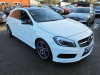 USED 2015 15 MERCEDES-BENZ A CLASS 1.6 A200 AMG NIGHT EDITION 5d 154 BHP + PAN ROOF + NAV