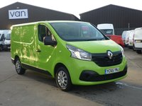 2015 RENAULT TRAFIC 1.6DCi SL27 BUSINESS PLUS  115 BHP air con bluetooth and much more