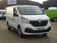 USED 2015 65 RENAULT TRAFIC 1.6DCi SL27 BUSINESS PLUS 115 BHP FINANCE AVAILABLE