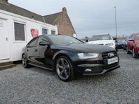 USED 2014 14 AUDI A4 Black Edition Quattro 3.0 TDI S Tronic 4dr ( 245 bhp ) One Owner From New Low Mileage
