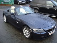 USED 2008 58 BMW Z4 2.0 Z4 ROADSTER ED EXCLUSIVE 2d 148BHP FULL HEAT LEATHER SEATS+PARK+