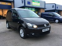 USED 2014 64 VOLKSWAGEN CADDY 1.6 C20 TDI BMT HIGHLINE 1d 101 BHP FSH, FULLY LOADED, 4 IN STOCK, FINANCE ARRANGED & 6 MONTH WARRANTY. FSH, A/C, Bluetooth, Radio/CD, Parking sensors, alloys, e/w, e/m, drivers airbag, Factory fitted bulk head, Side loading door, 1 Owner, remote Central Locking, Drivers Airbag, CD Player/FM Radio, Steering Column Radio Control, Side Loading Door, Barn Rear Doors, ply lined