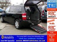 2010 KIA SEDONA 2.2 1 CRDI 5d 192 BHP WHEELCHAIR ACCESS 4 SEATS £4795.00