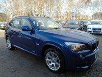 2011 BMW X1 2.0 XDRIVE20D M SPORT 5d AUTO 174 BHP £12695.00