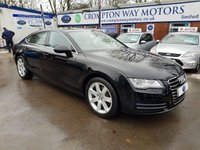 USED 2013 62 AUDI A7 3.0 TDI QUATTRO SE 5d 204 BHP 0% FINANCE AVAILABLE ON THIS CAR PLEASE CALL 01204 317705