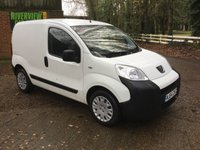 2014 PEUGEOT BIPPER 1.2 HDI PROFESSIONAL 1d 75 BHP AIR CON, BLUETOOTH, HIGH SPEC
