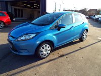 USED 2012 62 FORD FIESTA 1.2 EDGE 5d 59 BHP FREE 12 MONTH AA ROADSIDE RECOVERY INCLUDED