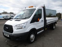 USED 2015 65 FORD TRANSIT DROPSIDE 350 LWB L4 (DRW) 125ps [1-Stop] L4 DRW Clean and tidy.