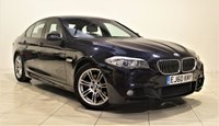 USED 2010 60 BMW 5 SERIES 2.0 520D M SPORT 4d 181 BHP + 1 PREV OWNER + AIR CON + AUX + HEATED LEATHER SEATS