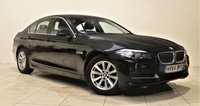 USED 2014 64 BMW 5 SERIES 2.0 520D SE 4d 188 BHP + 1 OWNER +  SAT NAV + AIR CON + AUX + BLUETOOTH