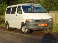 USED 2001 51 TOYOTA HI-ACE 2.4 280 POWERBUS 8 seats  DISABLED RAMP 8 SEATER