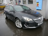 USED 2013 63 VAUXHALL INSIGNIA SRI CDTI 163 bhp ESTATE
