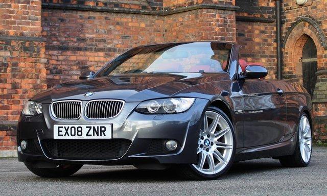 2008 08 BMW 3 SERIES 3.0 330I M SPORT 2d AUTO 269 BHP