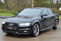 USED 2014 14 AUDI A4 1.8 TFSI S LINE BLACK EDITION S/S 4d 170 BHP ***REQUEST YOUR WHATS APP VIDEO***