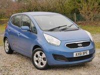 USED 2012 61 KIA VENGA 1.6 2 5d AUTO 123 BHP