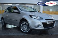 USED 2012 12 RENAULT CLIO 1.1 DYNAMIQUE TOMTOM 16V 3d 75 BHP THE CAR FINANCE SPECIALIST