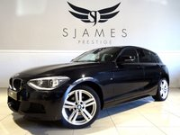2014 BMW 1 SERIES 2.0 120D XDRIVE M SPORT 5d 181 BHP £13990.00